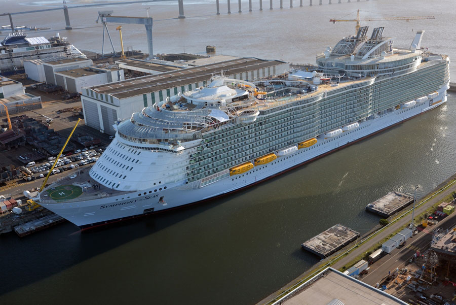 Symphony of the Seas January Photos