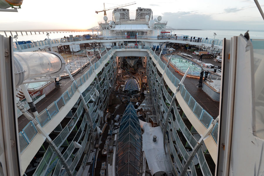 Symphony of the Seas January Photos