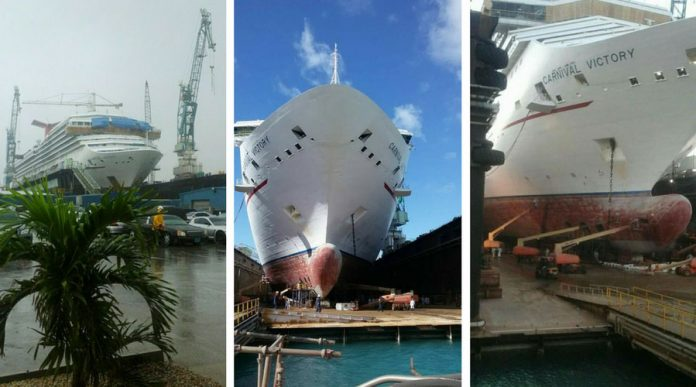 Carnival Victory Dry Dock