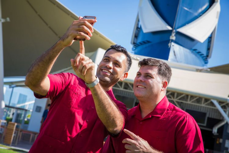 Francisco Vargas and Benjamin Gray, Celebrity Equinox