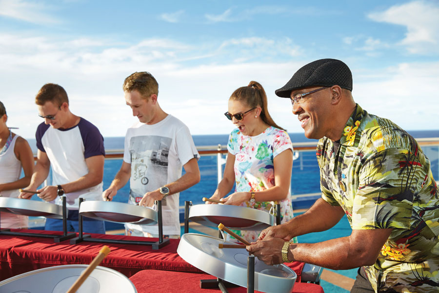 Steel Drum Band Princess Cruises