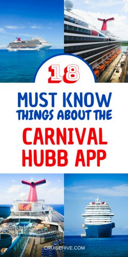 If your going on a cruise vacation with Carnival Cruise Line then you'll want to use the popular Hub App. Let's find out more.