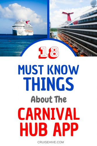 18 Must Know Things About The Carnival Hub App