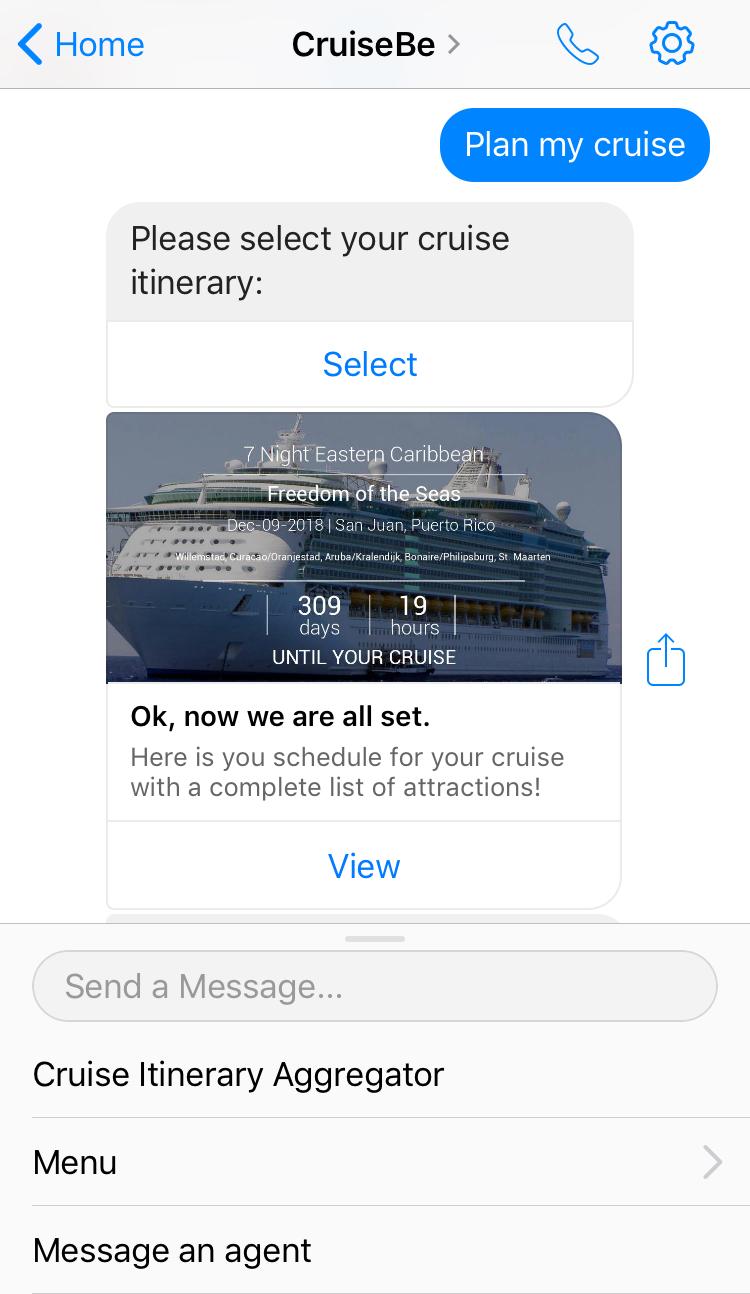 Cruisebe Virtual Cruise Assistant