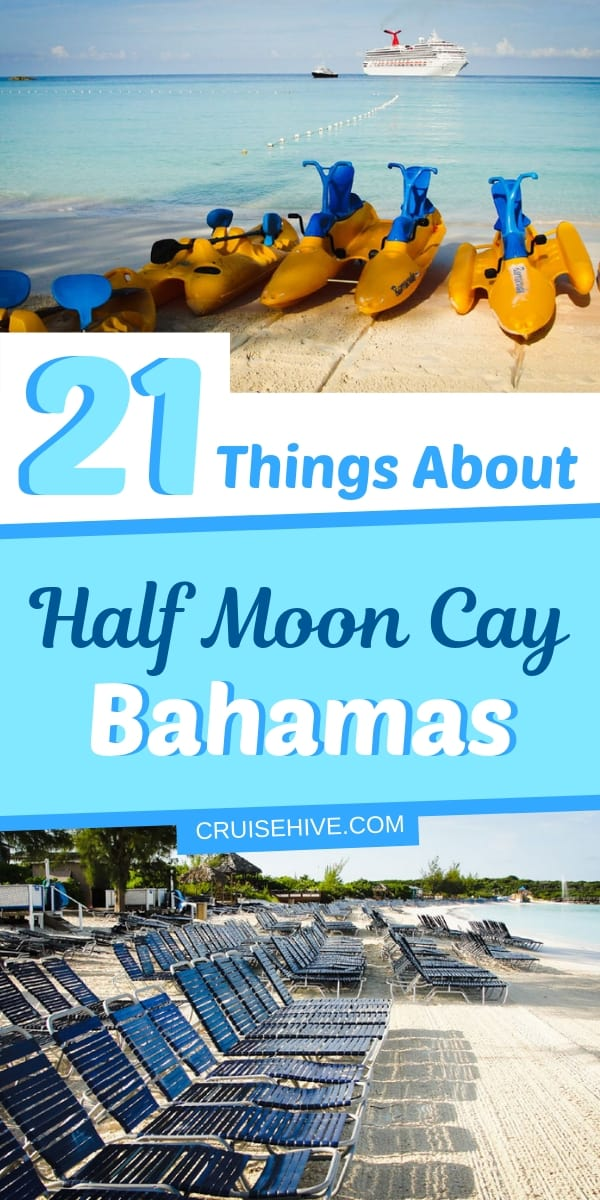 The ultimate guide on things to do at Half Moon Cay, Bahamas, a private island destination operated Carnival Cruise Line and Holland America Line. The beach here is stunning and a must visit for a vacation.