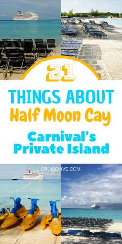 21 Things About Half Moon Cay, Carnival's Private Island