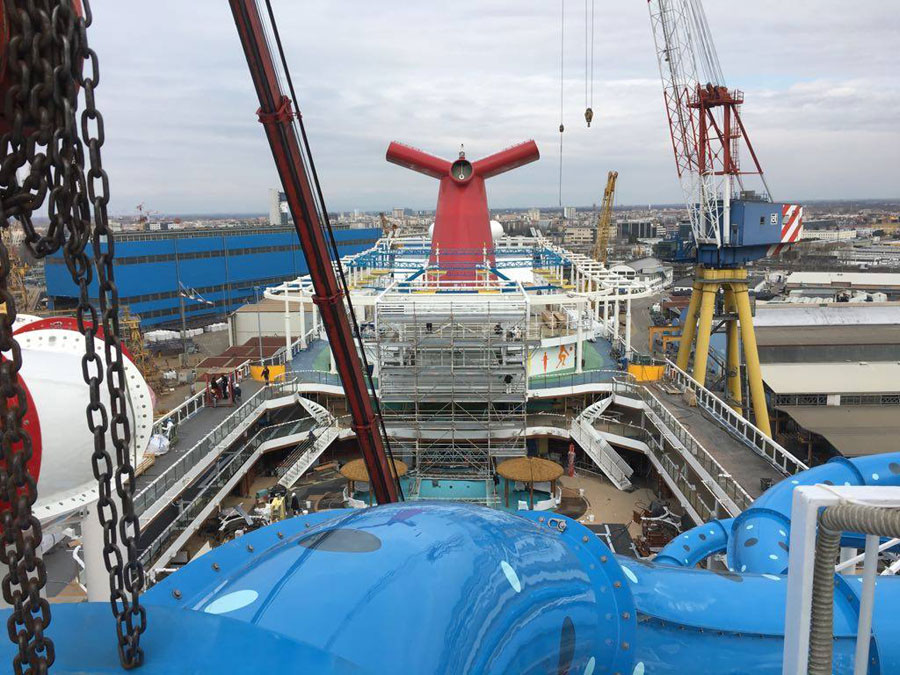 Carnival Horizon Fitting Out
