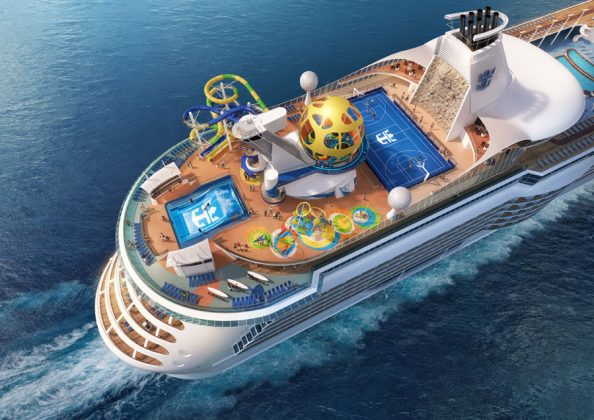 Mariner of the Seas Refurbishment Renderings