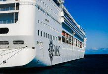 MSC Opera in Port