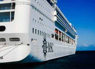MSC Opera in Port