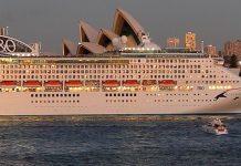Pacific Explorer In Sydney