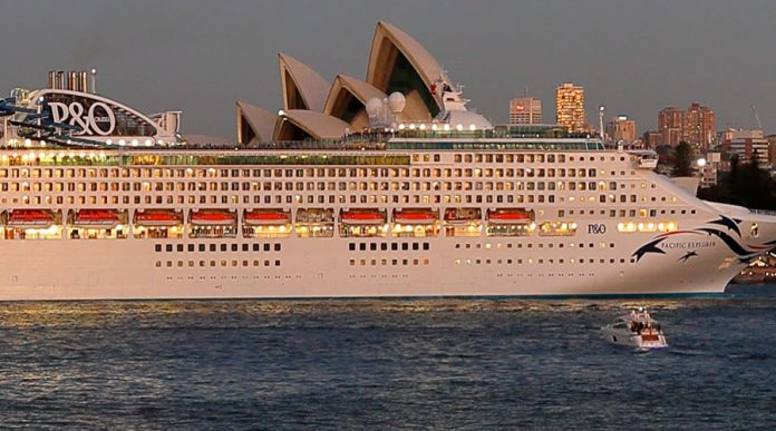Pacific Explorer In Sydney