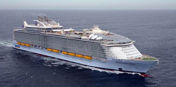 Symphony of the Seas Sea Trials