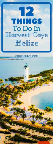 12 Things to do in Harvest Caye, Belize