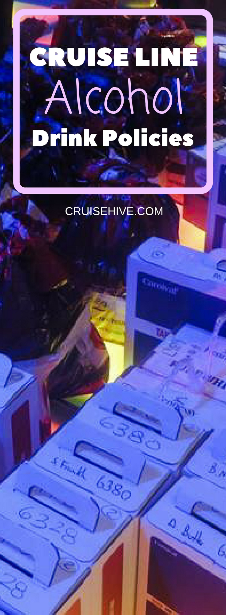 Cruise Line Alcohol Policy