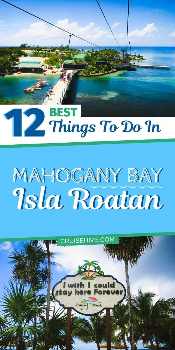 Mahogany Bay, Isla Roatan