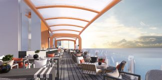 Celebrity Edge Dining and Bar
