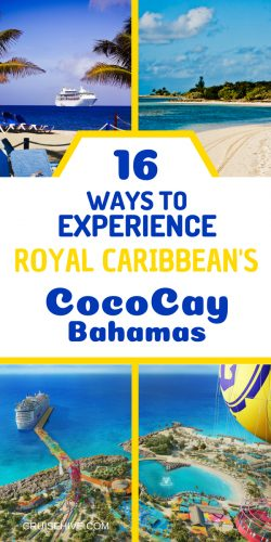 Here's how you can experience Royal Caribbean's private island of Cococay, Bahamas.