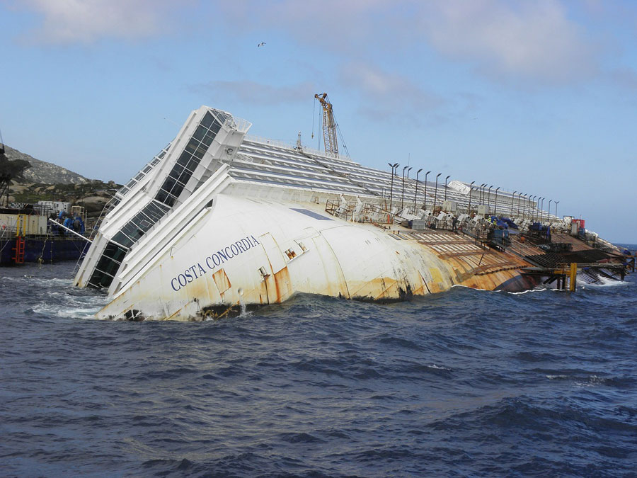 Costa Concordia Wreckage, 2012