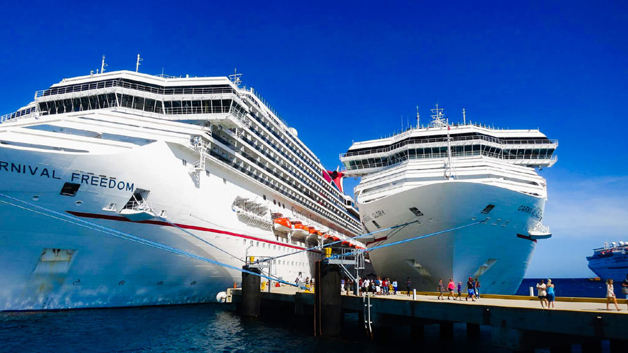 Carnival Ships by Age