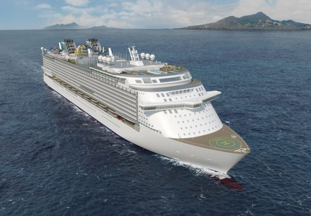 Global Class Cruise Ship Rendering