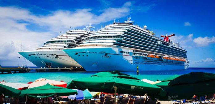 Carnival Cruise Ships Docked in Grand Turk