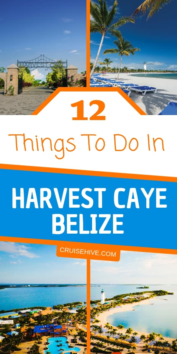 Everything you need to know the on things to do in Harvest Caye, Belize during a cruise vacation. Also with cruise and travel tips on the Norwegian Cruise Line private island in the Western Caribbean.