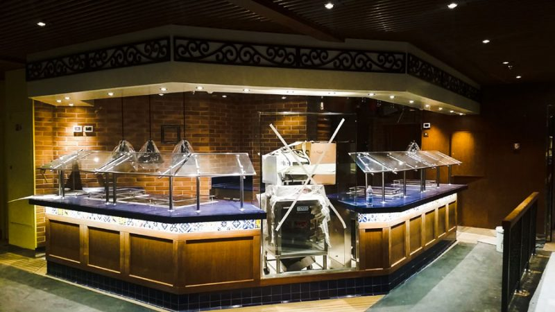 Carnival Horizon BlueIguana Cantina at the Shipyard