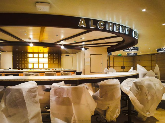 Carnival Horizon Alchemy Bar at the Shipyard
