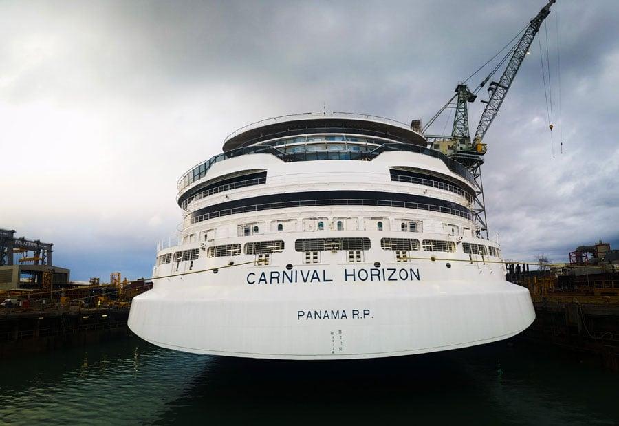 Carnival Horizon Aft