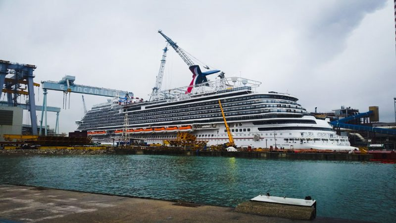 Carnival Horizon Crew Video And Setting Up A New Cruise Ship