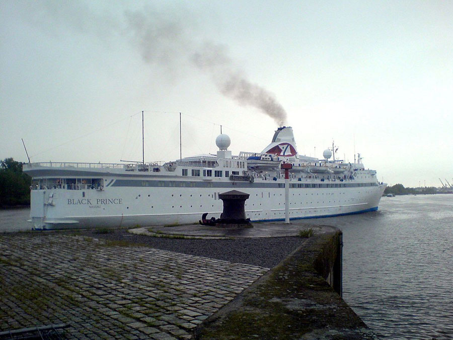 Costa Concordia Wreckage, 2012