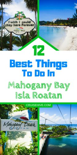 If you're planning a Caribbean cruise vacation then you could be sailing to this stunning destination! Here are the best things to do in Mahogany Bay, Isla Roatan.