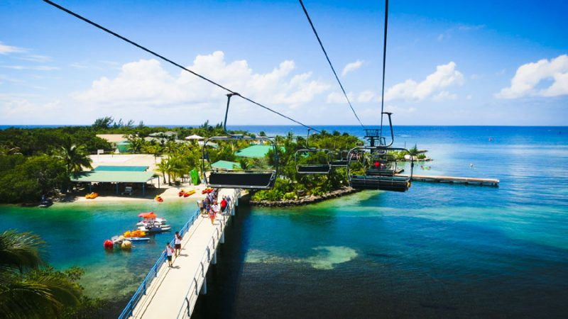 Mahogany Bay Magical Flying Beach Chair (Chairlift)