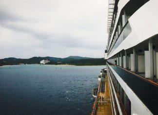 Carnival Dream Cruise Ship Departing Port
