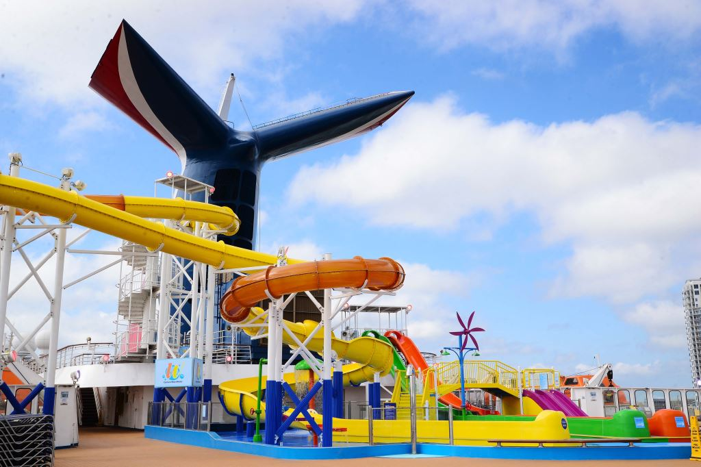 Carnival Paradise Completes Huge Month Long Dry Dock