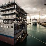 Silver Spirit Cruise Ship Cut in Half