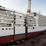 Silver Spirit Cruise Ship Cut in Half