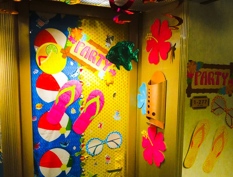 Royal Caribbean Door Decorations