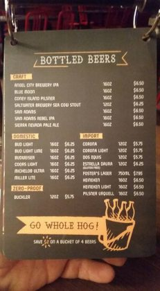 Guy's Pig & Anchor Bar-B-Que Smokehouse | Brewhouse Menu