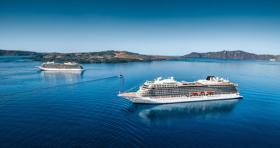 2 Viking Ocean Cruise Ships