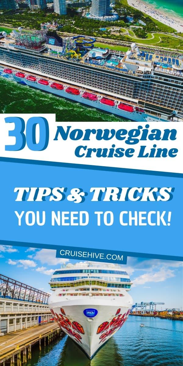 30 Norwegian Cruise Line Tips and Tricks