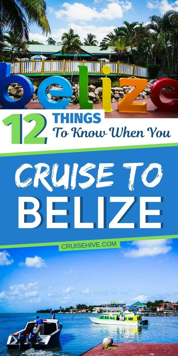 Cruise to Belize