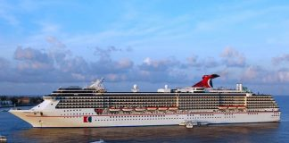 Carnival legend Tendering