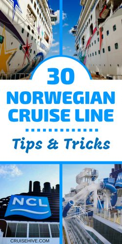 If you're going to travel with NCL then here are 30 cruise tips and tricks to help you out.