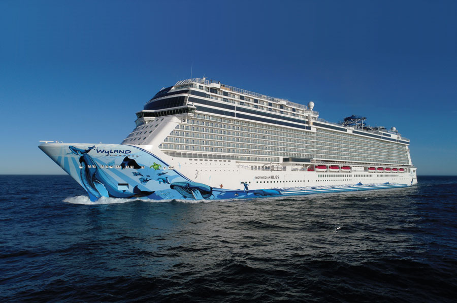 Norwegian Bliss at Sea