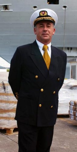 Captain Carlo Queirolo
