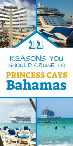 Everything you need to know about Princess Cays, Bahamas before your cruise vacation.