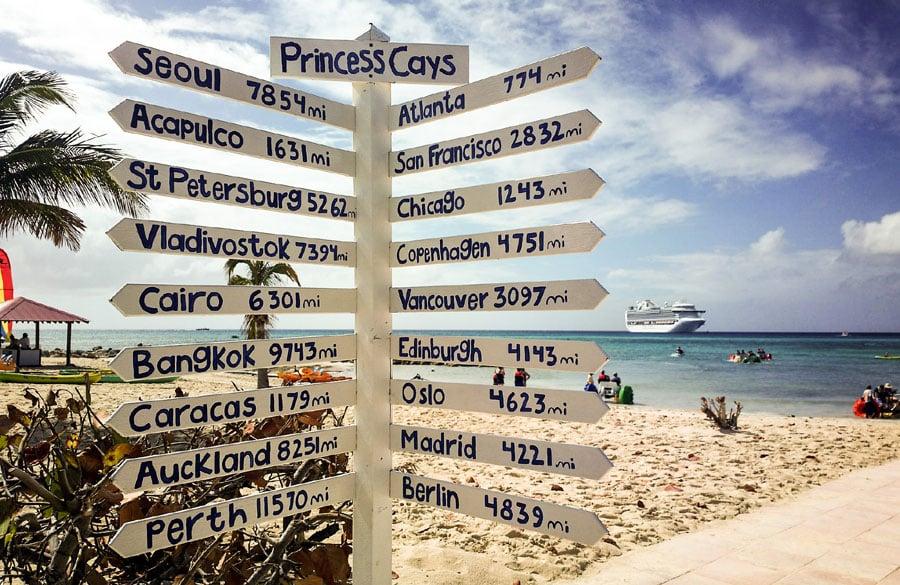 11 Reasons You Should Cruise To Princess Cays Bahamas