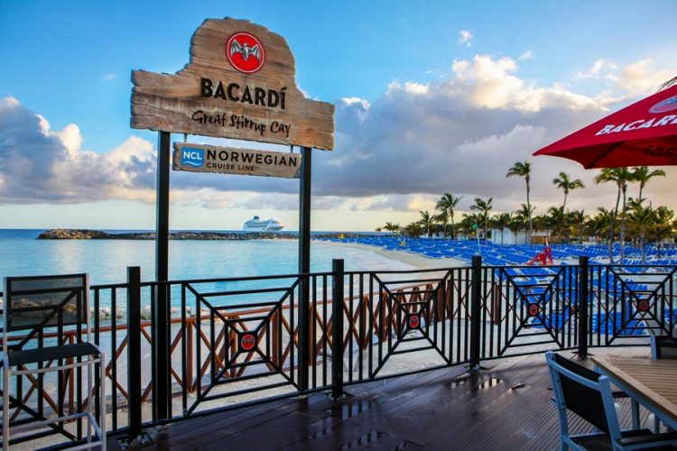 Bacardi Bar, Great Stirrup Cay